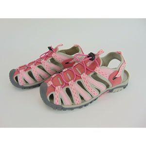 The Breast Cancer Path to Pink Sports Sandals Sz 7